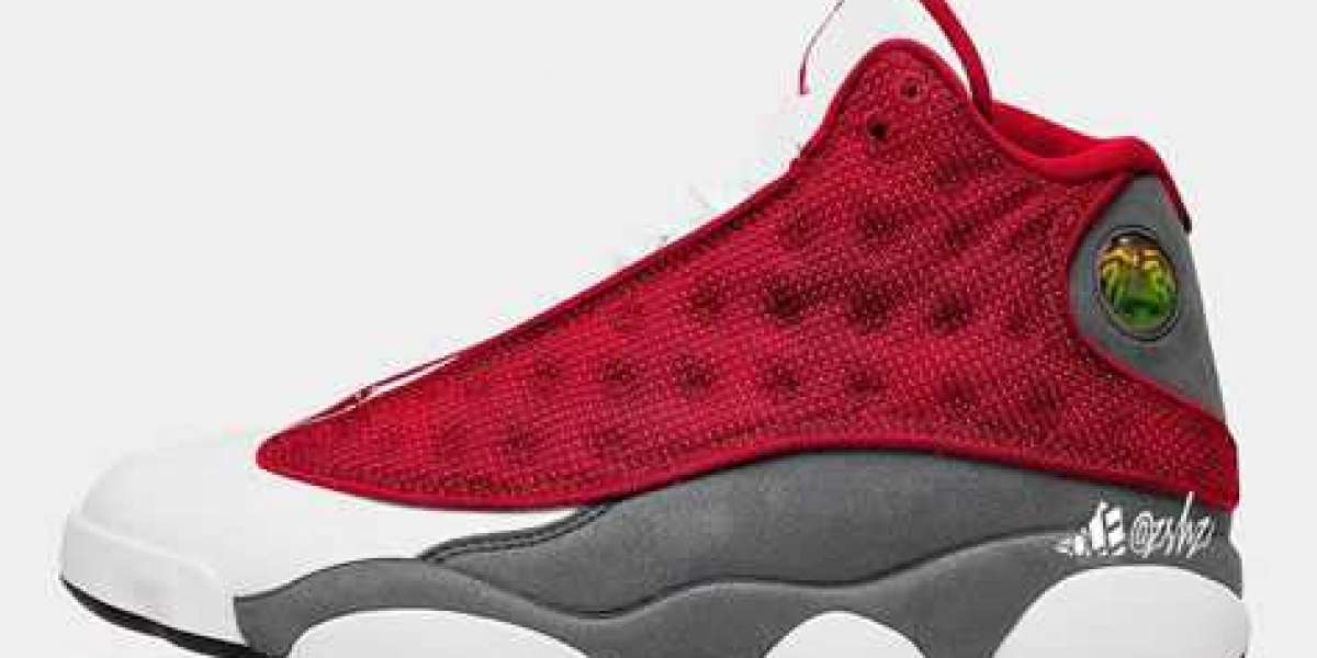 """414571-600 Aj 13 """"Red Flint"""" Gym Red/Flint Grey-White-Black will be released in spring 2021"""