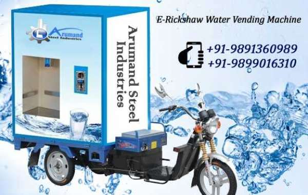 E Rickshaw Water Vending Machine
