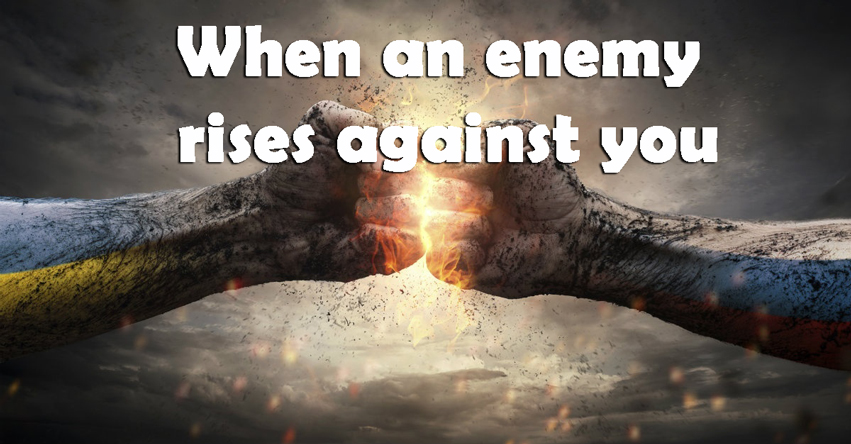 Use this this psalms when an enemy rises against you - The Key To Psalms