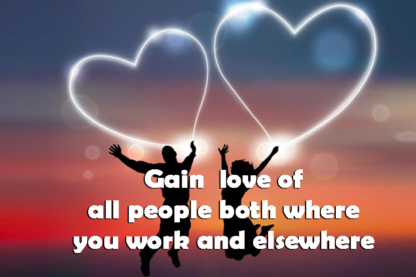 Gain love of all people both where you work and elsewhere - The Key To Psalms