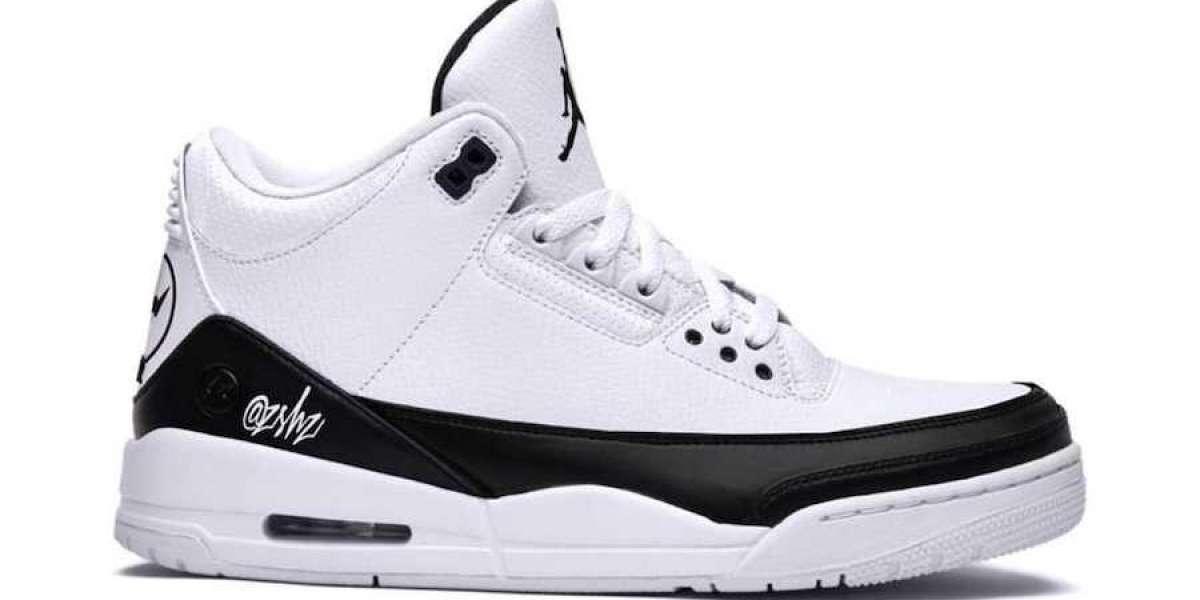 DA3595-100 New Air Jordan 3 Retro SP White Black To Release In Fall 2020