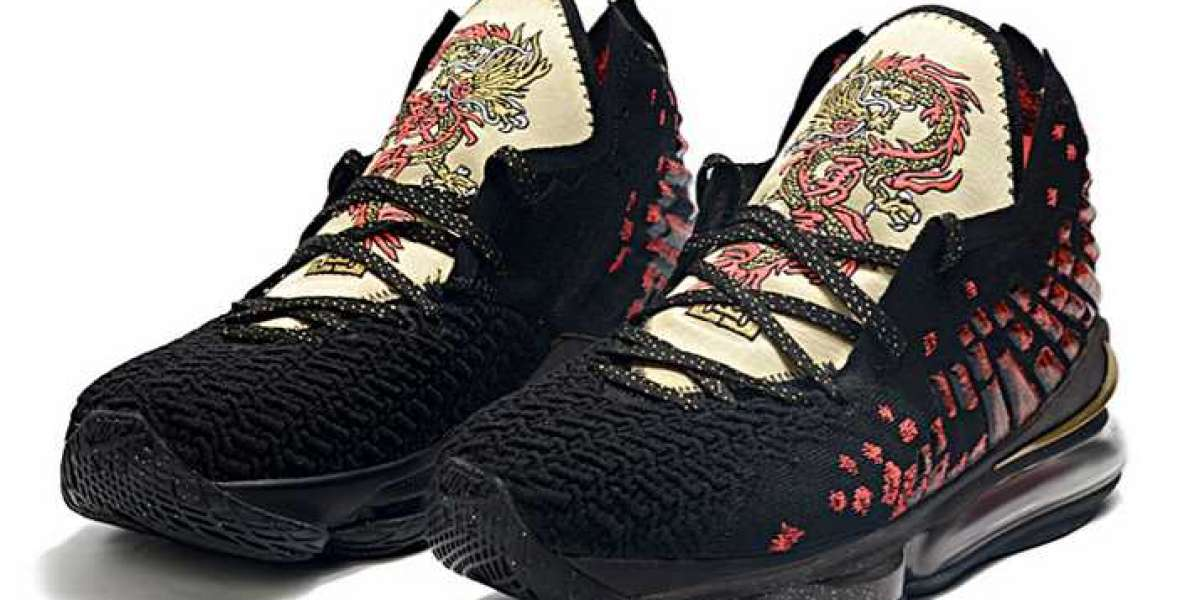 """Nike LeBron 17 """"Courage"""" Black/Red-Metallic Gold 2020 CD5054-001 For Sale Online"""