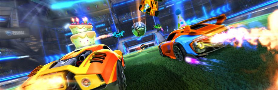 Blueprints will arrive in a Rocket League game update next month Cover Image