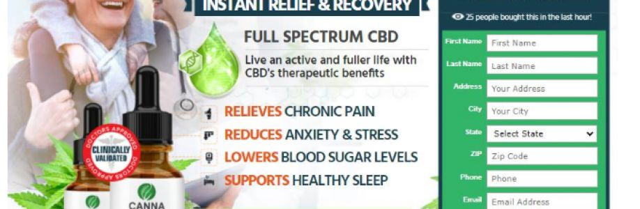 Canna Organic CBD - Relieve Stress & Anxiety With Canna Organic Farms! Cover Image