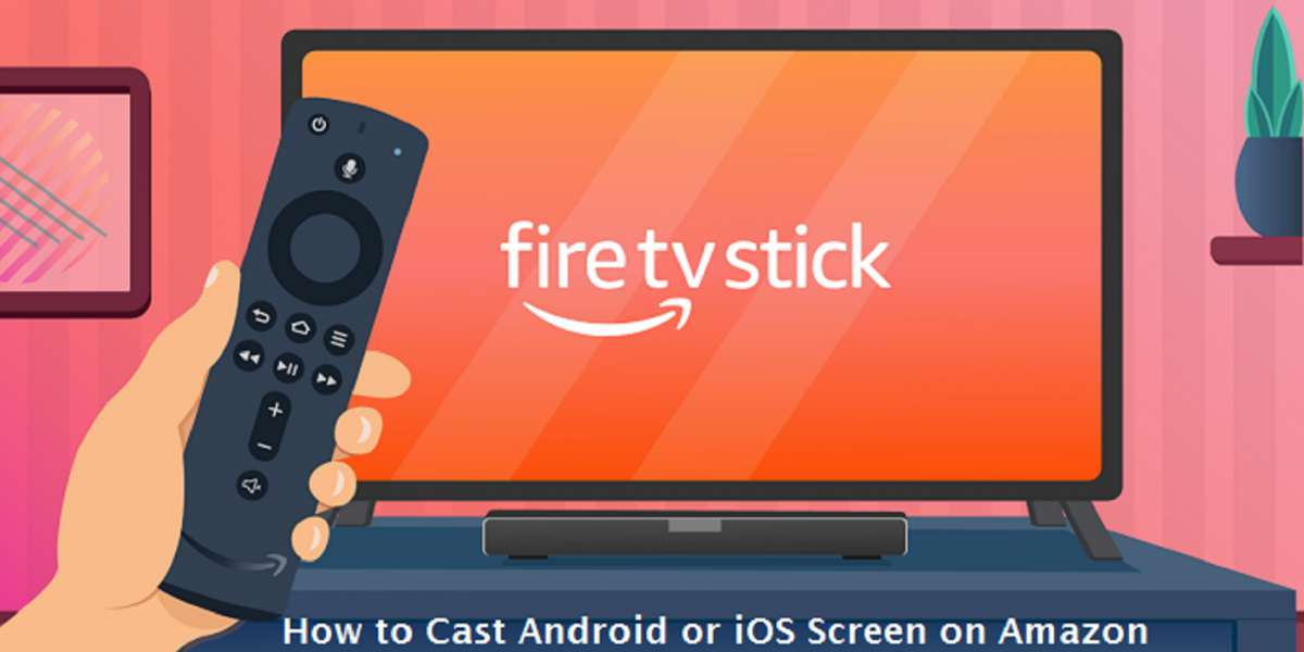 How to Cast Android or iOS Screen on Amazon Fire TV Stick