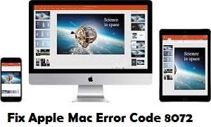 How to Fix Mac Error Code 8072 ? Call +1-855-626-0142 Toll-Free