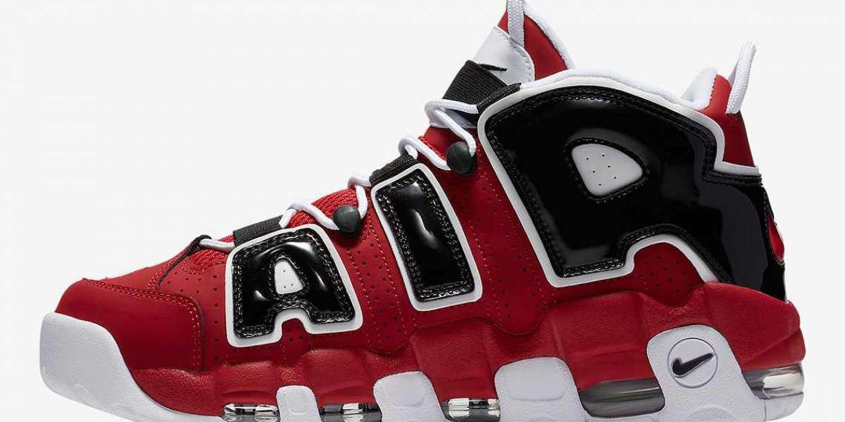 "Nike Air More Uptempo ""Hoop Pack"" Basketball Shoe 921948-600"