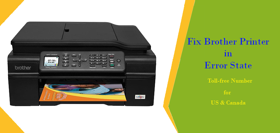 How to Fix Brother Printer in Error State issue | +1-855-626-0142