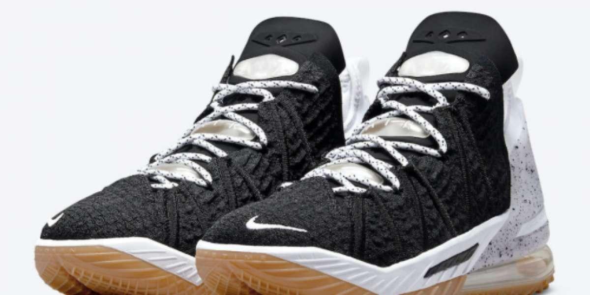 "Brand New Nike LeBron 18 ""Black Gum"" On Sale CQ9283-007"