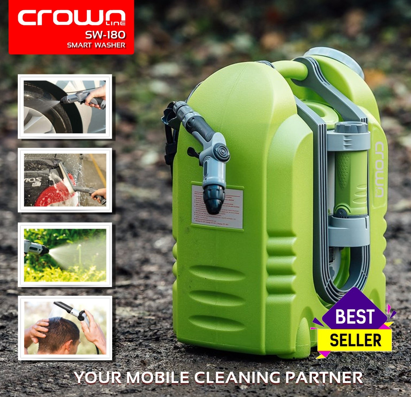 How to Choose a Pressure Washer in Dubai? – Crownline