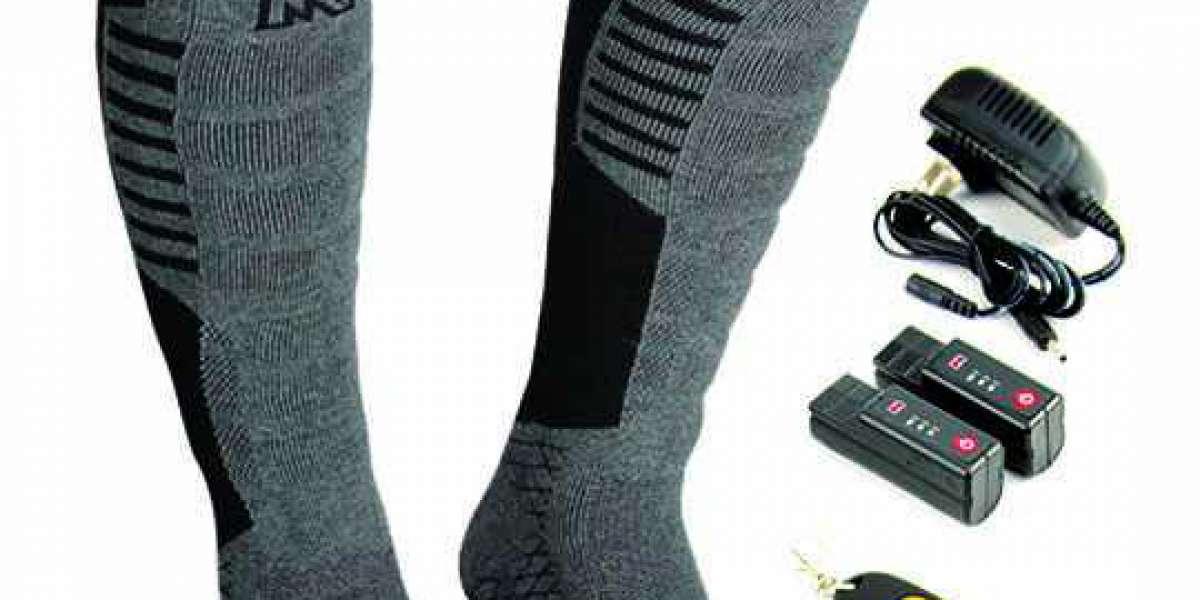 Mens Heated Socks
