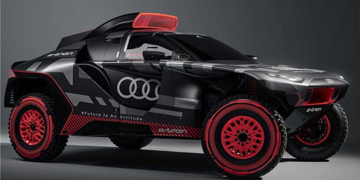 The Audi Dream Team the world-famous Dakar Rally
