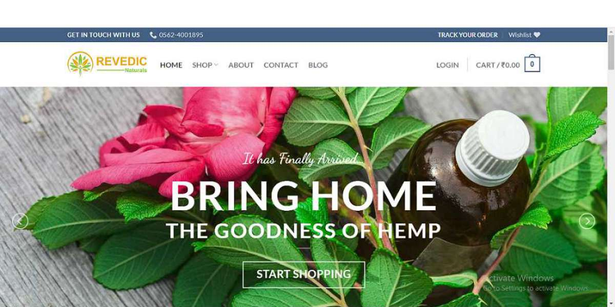CSS Of Hemp Products In India Created By Revedic.Com