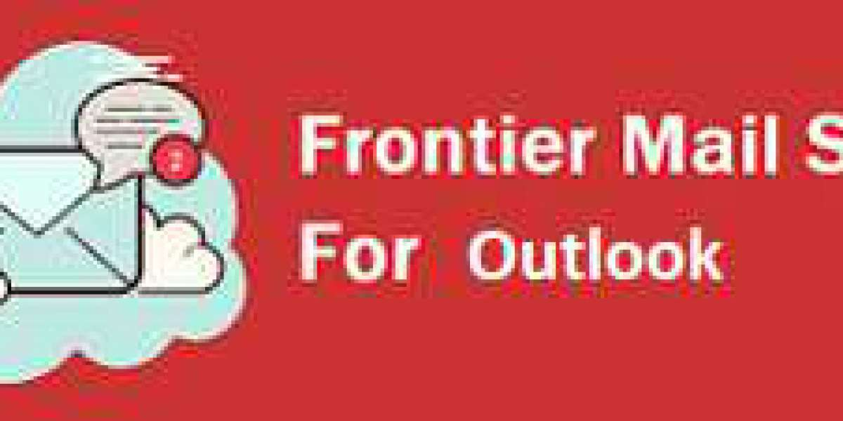 How to setup frontier email settings for outlook?