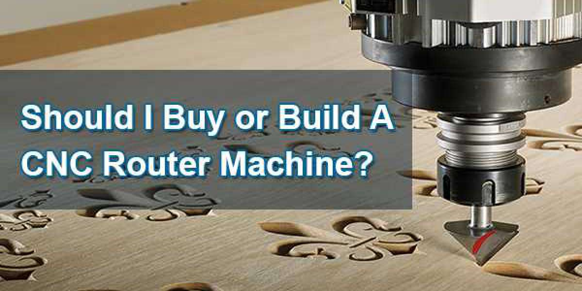 Should I Buy or Build A CNC Router Machine?