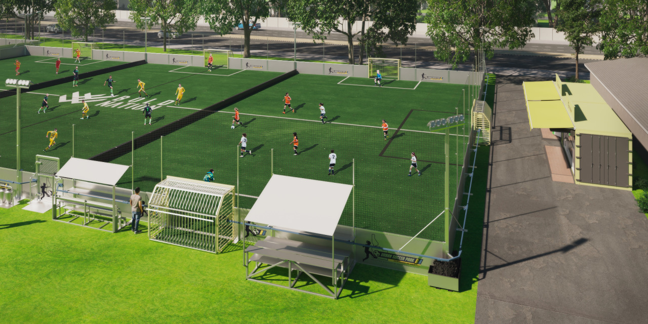 Know About Mini Football Pitch Dimensions with Artificial Turf Coverings