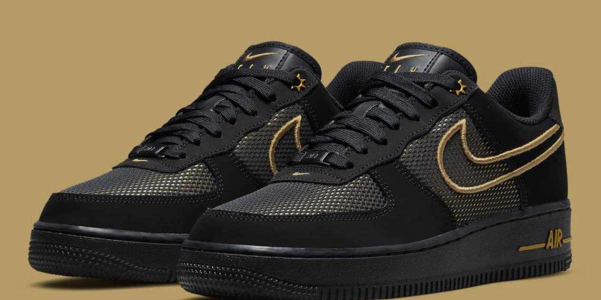 "DM8077-001 Nike Air Force 1 Low ""Legendary"" Black"