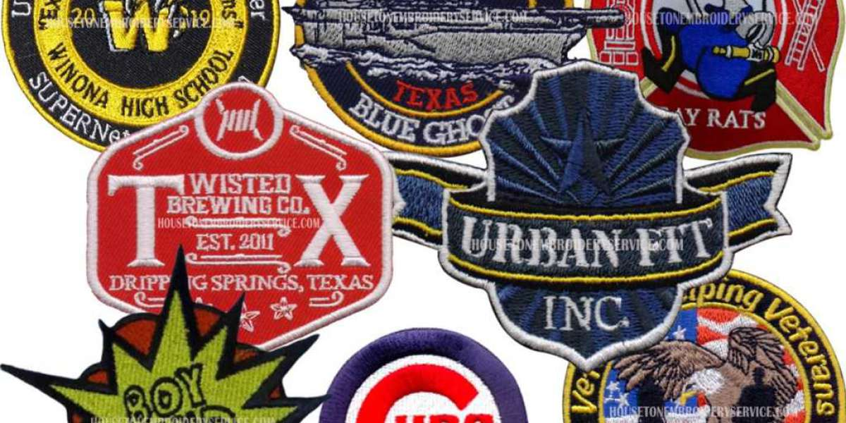Be familiar with With The Words for personalized embroidered patches!