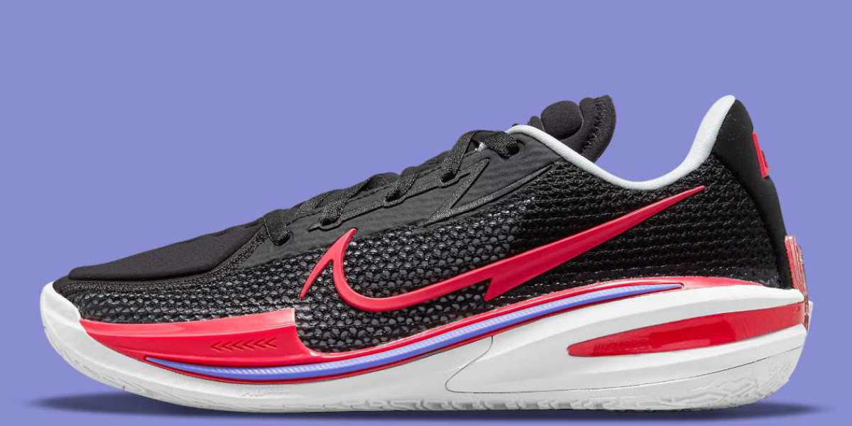 """2021 Latest Nike Zoom GT Cut """"Black/Fusion Red"""" CZ0175-003"""