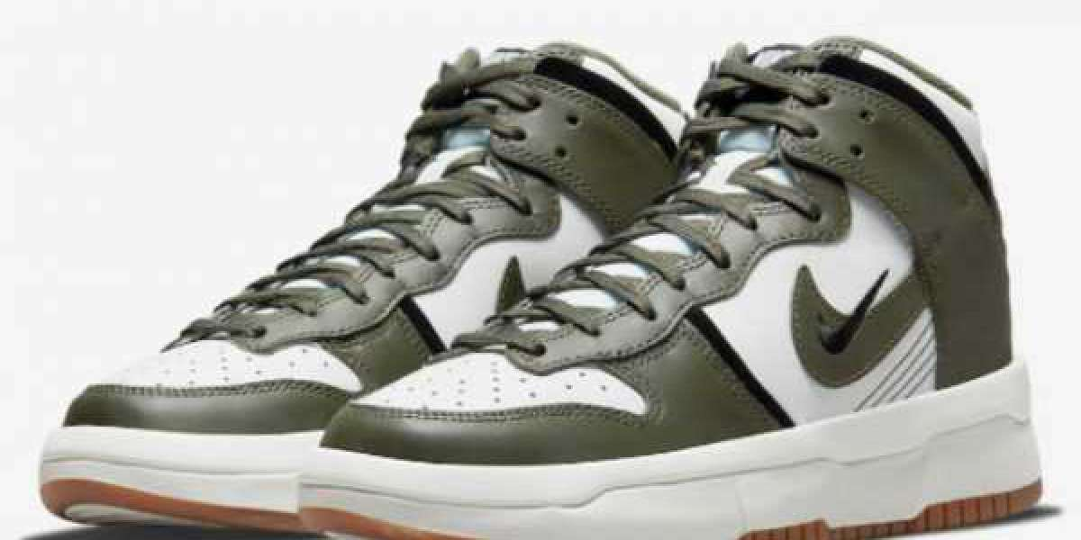 """DH3718-103 Nike Dunk High Rebel """"Cargo Khaki"""" will coming in the winter"""
